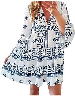 Poachers Vestidos Mujer Invierno Sexy Cuello de Pico Estampado Vestido Vintage Mujer años 50 Moda Mujer Otoño Invierno 201...