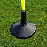 FORZA Slalom Pole Rubber Base | Heavy Duty Rubber Pole Base | 2.3kg Weight