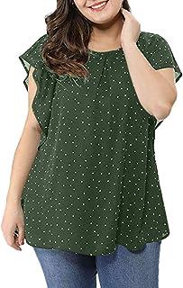 d298a46d5 Amazon.es: tallas grandes mujer - Blusas y camisas / Camisetas, tops ...