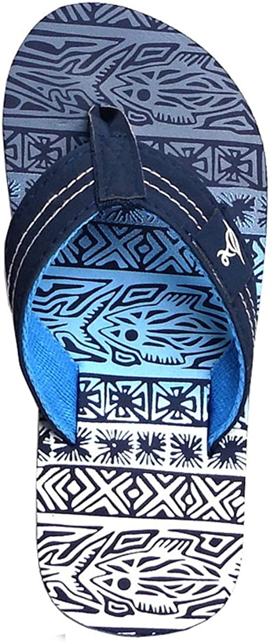 REDVOLUTION New Industry No. 1 Cheap bargain Kids' Tribal Pattern Tropical Print Beach Sandal