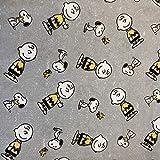 Snoopy Stoff – Snoopy Charlie Brown Grey – SC262 –