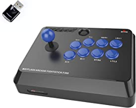 MAYFLASH F300 Arcade Fight Stick and MAGICBOOTS Bundle for Playstation 4