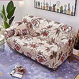 PPOS Elastische Stretch Schonbezüge Sofa Sectional Sofa Cover für Wohnzimmer Couch Cover Single C8 Loveseat 145-185cm-1pc