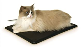 K&H PET PRODUCTS Extreme Weather Kitty Pad Black Small