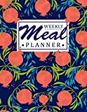 Weekly Meal Planner: A Food Planning Notebook with Favorite Grocery list | Use this Meal Planner as a Meal Tracker, Food Journal Diary | Perfect Gift Ideas for Girls, Women, Foodies, Cooks, Chefs.