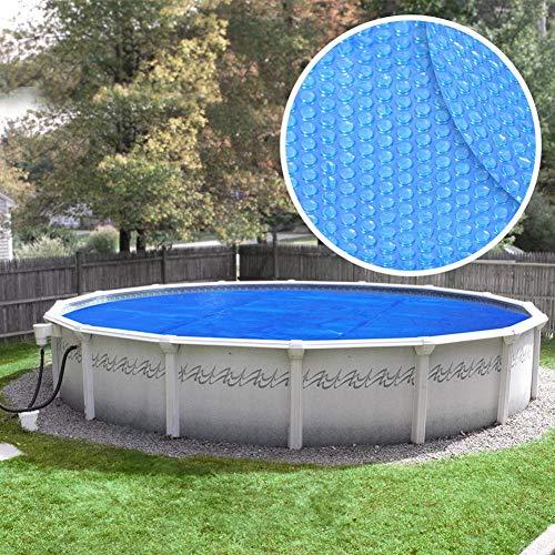 Robelle Box 15' Round Pool Heavy Duty 8 Mil Blue Solar Cover, ft