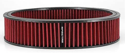 Spectre Performance 48022 Air Filter 14 X 3 Cotton Fiber Red