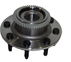 Detroit Axle - Front Wheel Bearing & Hub Assembly for 2WD 2000 2001 2002 Dodge Ram 2500 2WD