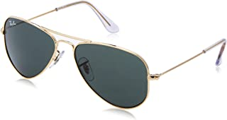 RAY-BAN JUNIOR RJ9506S Aviator Kids Sunglasses,...