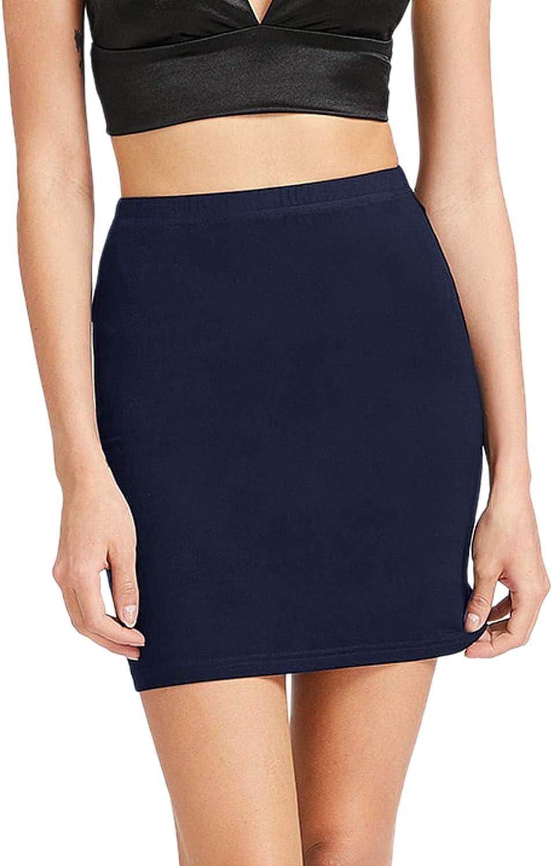 SheIn Women's Stretch Above Knee Mini Short Bodycon Pencil Skirt