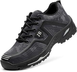 Mitudidi Baskets de Securite Femme 40 S3 Chaussures de Sécurité Hommes Garçon Respirant Légère Enfants Légère Chaussures d...