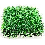 shyymaoyi Planta acuática de plástico césped verde hierba acuario acuario tanque ornamento