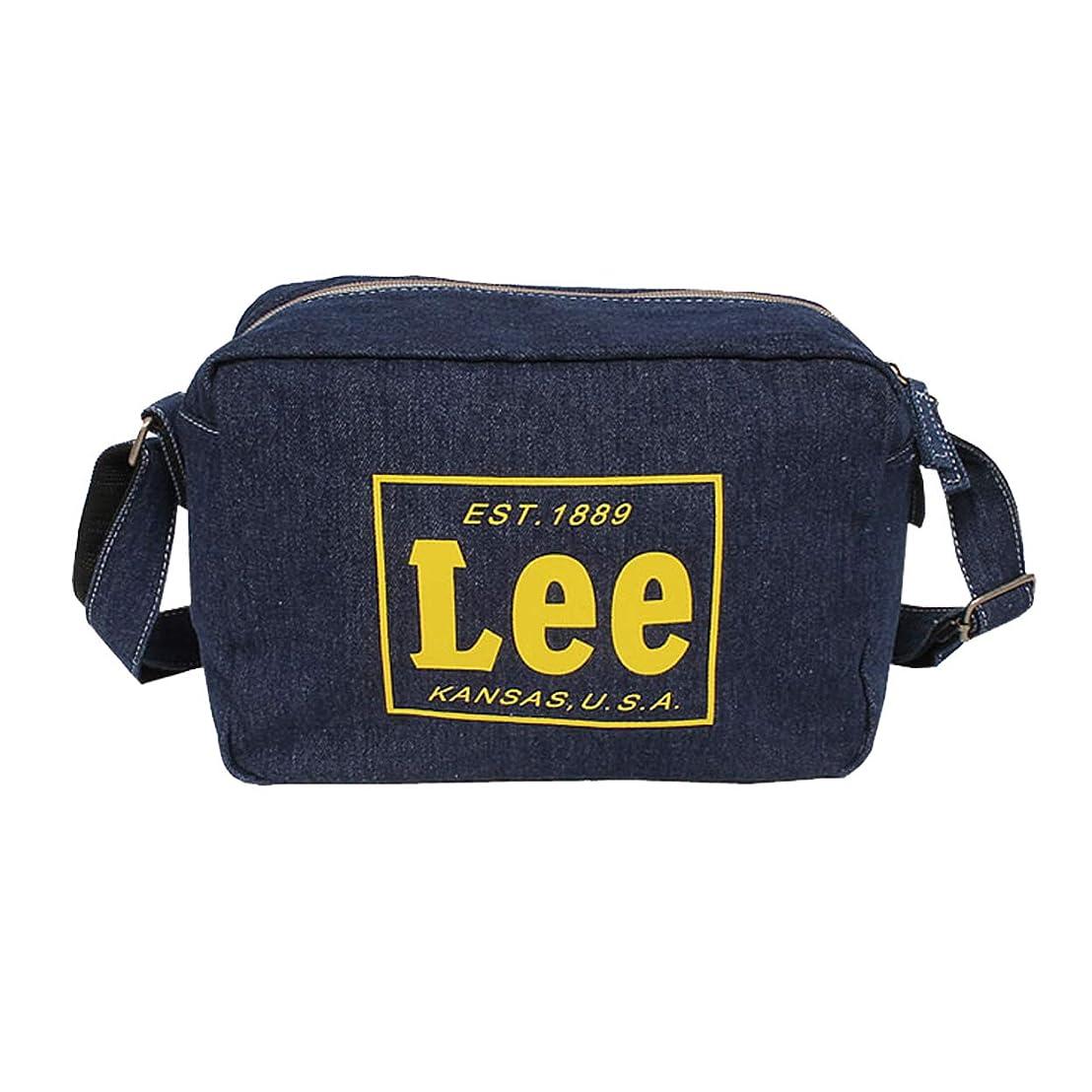 メタリックはがきめまい取寄品リー Lee 幼稚園バッグ ショルダーバッグ ミニショルダー 子供用 キッズ用 デニム 0427037
