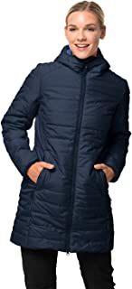 Jack Wolfskin Women's Maryland Windproof Insulated Long Jacket