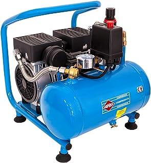 AIRPRESS Druckluft Kompressor L 6 95 Silent 8 Bar 6 Liter 0,6 PS 2 Zylinder Pro