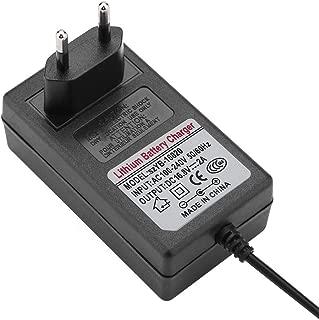 36W Lii-500S Kit de Cargador de Bater/ía port/átil 4 Ranuras con Control T/áctil Cargador R/ápido Inteligente CA 100V-240V Lixada MAX 50-60Hz DC 12V 3A