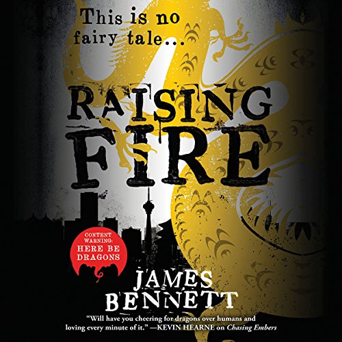 Raising Fire audiobook cover art