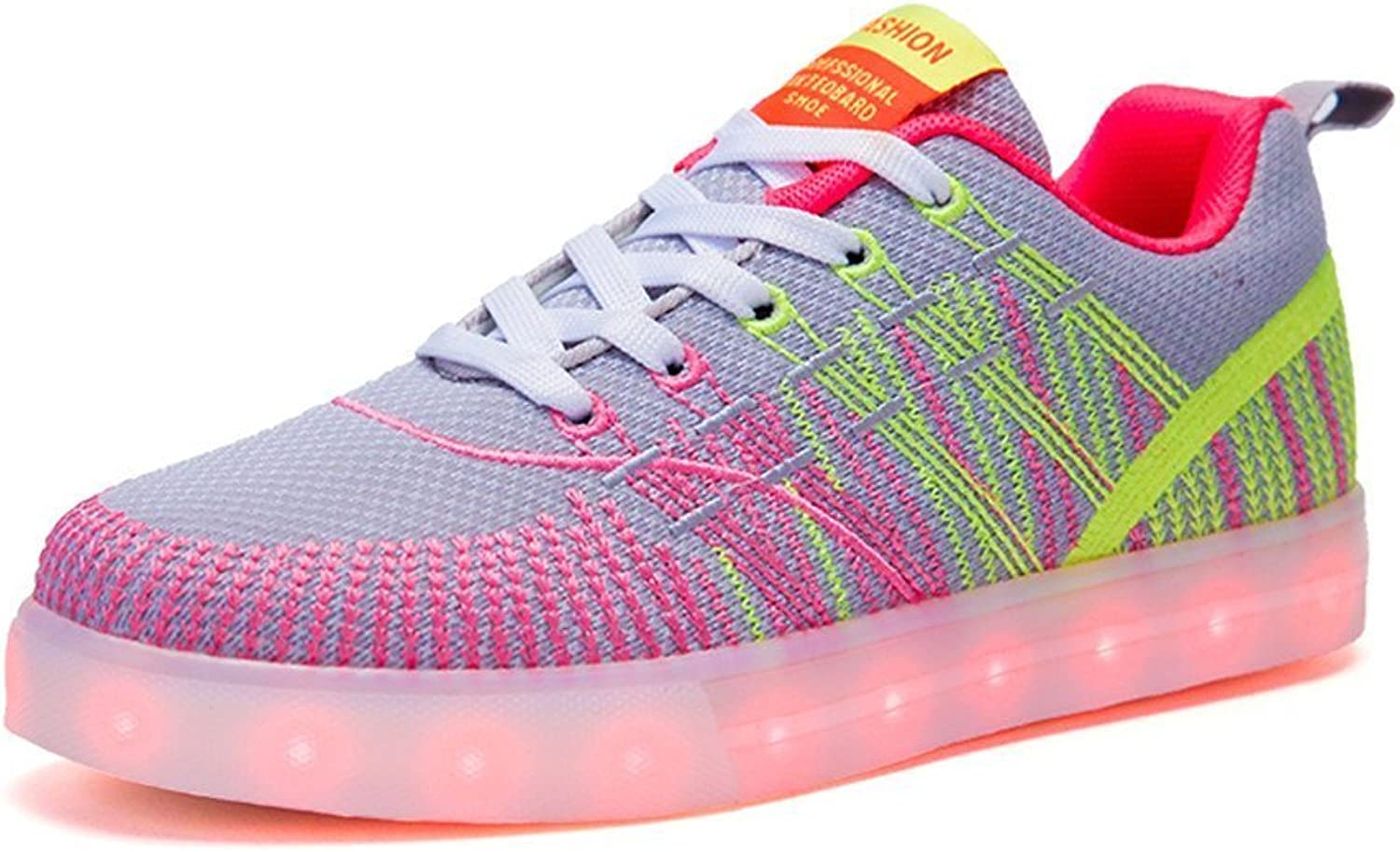 Believed Womens Fashion Led Lights up Sneakers Luminous shoes