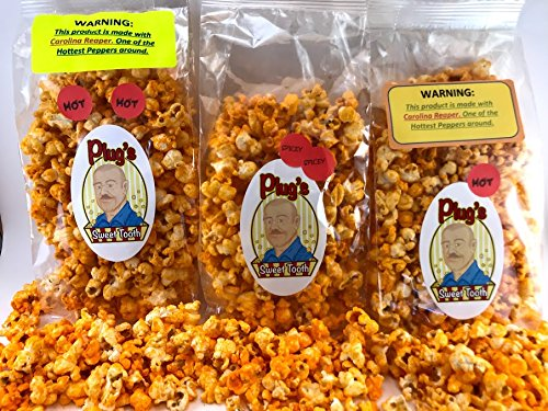 Check Out This Plug's Sweet Tooth Gourmet Popcorn Tongue Scorcher Trio