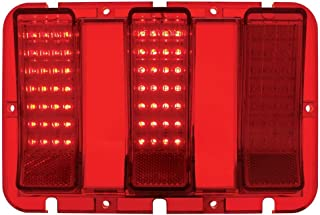 United Pacific 84-LED Sequential Tail Light Lens for 1967-1968 Ford Mustang, Each