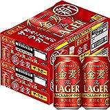 [Amazon限定ブランド] 【新ジャンル/第3のビール】2ケースまとめ買い サントリー 金麦 ザ・ラガー [ 350ml×48本 ]