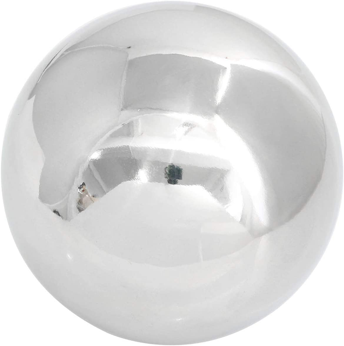 ZYAMY 4 Inch Stainless Steel Ball Sphere Mirror Hollow Ball Home Garden Decoration Supplies