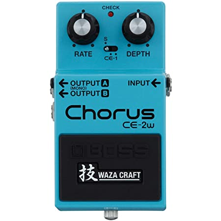 BOSS WAZA Craft Chorus Guitar Pedal (CE-2W)