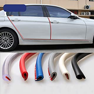 Car Door Edge Rubber Scratch Protector 5M 10M Moulding Strip Protection Strips Sealing Anti rub DIY Car styling