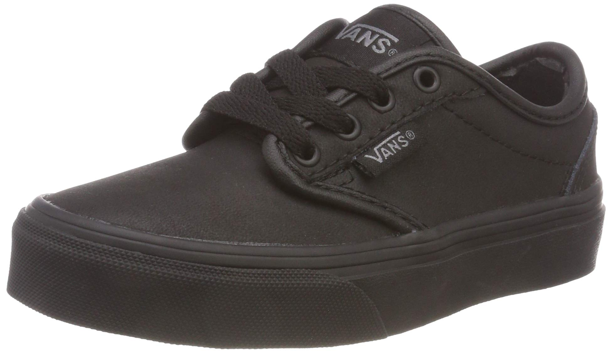 Vans Boys' Atwood Leather Low-Top