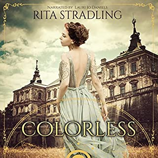 Colorless audiobook cover art