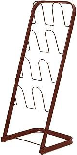 ZXJshyp Shoe Organiser Shelf Iron Shelves, Home Storage Stand Shoe Cabinet Multi-Layer Safe Waterproof Space Saving Rust P...