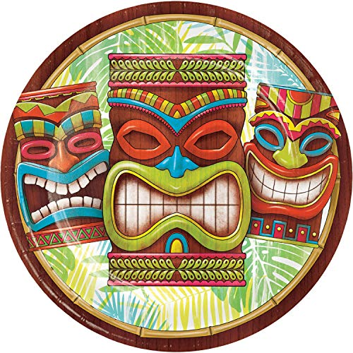 Tiki Time Paper Plates, 150 ct
