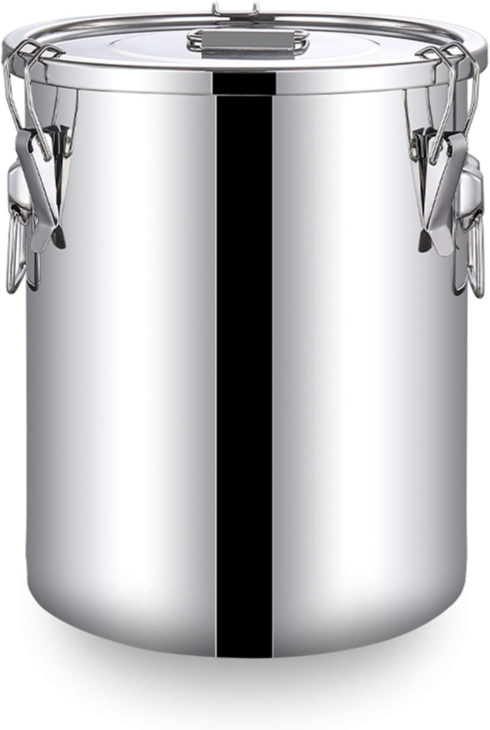 304 Stainless Steel Milk Can, Inexpensive With K Soup Lid Pot Large Al sold out. Bucket