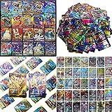 Pokémon CartesAmusant Flash Card Jeux De Cartes 100 Pcs Pokemon Cartes Style, 20GX + 20 Mega+1Energy+59EX Arts。(English)