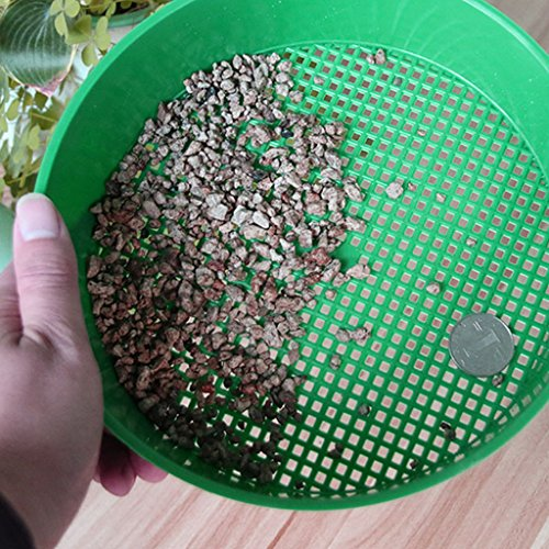 Lunji Gardening Tamis de Jardin Plastique 21x5cm