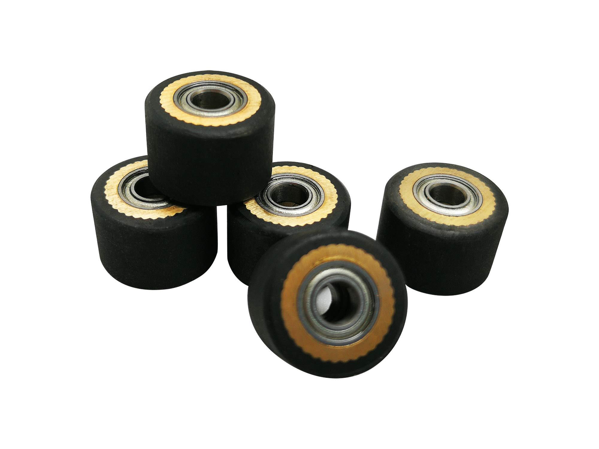 4 piezas Pinch Roller para Mimaki Cutter Plotter de Corte de Vinilo 4 X 10 X 14 mm: Amazon.es: Amazon.es
