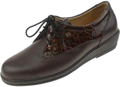 Finn Comfort , Chaussures de Ville à Lacets pour Femme Marron Marron 37 EU