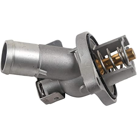 Mplus Coolant Thermostat 2002-2006 for Cadillac Escalade /& 2003-2007 for Hummer H2 /& 2005-2007 for Chevrolet Corvette /& 2003-2005 for Chevrolet Express 2500 and more