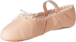 Miguelito Ballet Split II Zapatos en Piel para Bebé-niñas, color Rosa