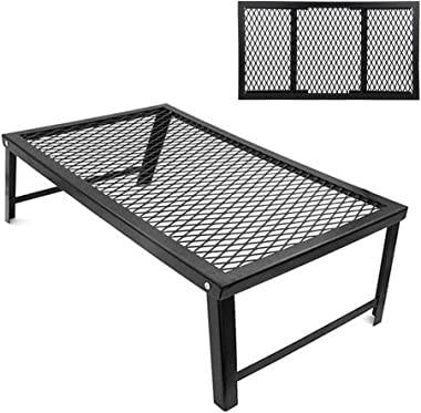 Camping Table, BBQ Table, Storage Rack Camping for Barbecue Party Picnic