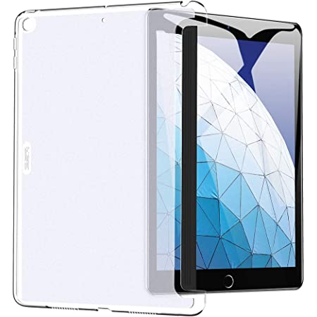 ESR iPad Air 2019 ケース iPad Air3 10.5インチ PCバックカバー クリア スリム 軽量 スマートカバー&スマートキーボードに対応 2019年版 iPad 10.5インチ専用カバー(クリア)