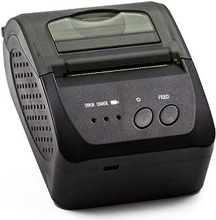 Mini Impressora Térmica Bluetooth 58 Mm Sem Fio Recarregável