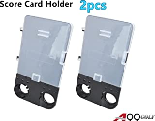 A99 Golf 2pcs Cart Scorecard KIT Holder- Easy Carry, Fit Your Golf Cart