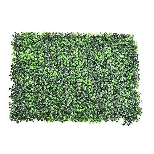 Designer Türmatte mit Kunstrasen Fußmatte für Flur, Bad, Innen- und Außen-Bereich | waschbarer Fuß-Abtreter | Praktischer Fußabstreifer und Schmutzfang-Matte | Grün 60 * 40 cm (1 Stück, B)