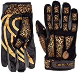 POWERHANDZ Weighted Anti-Grip Basketball Gloves for Ball Handling, Improved Dribbling, Strength and...