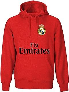 Real Madrid Adult Hoodies (Black, Navy, Red, Gray, White, Purple, Green, Blue, Burgundy)