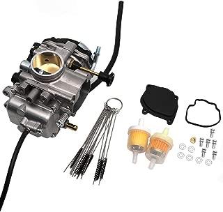 KIPA Carburetor For Yamaha Bear Tracker 250 YFM250 Bear Tracker YFM 250 YFM250B YFM250X YFM250XH 1999-2004 ATV With Carbon Dirt Jet Cleaner Tool Kit & Fuel Filters