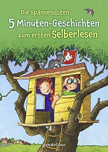 Die spannendsten 5 Minuten-Geschichten zum ersten Selberlesen: Der Bestseller für Erstleser ab 6 Jahre für 5,00 €.