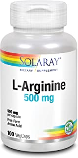 Solaray L-Arginine, 500 mg   100 Count
