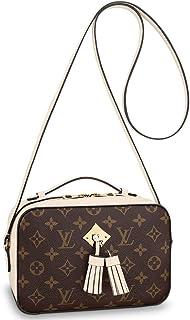 2be868258d16 Louis Vuitton Monogram Canvas Saintonge Cross Body Handbag Creme Article   M43559 Made in France